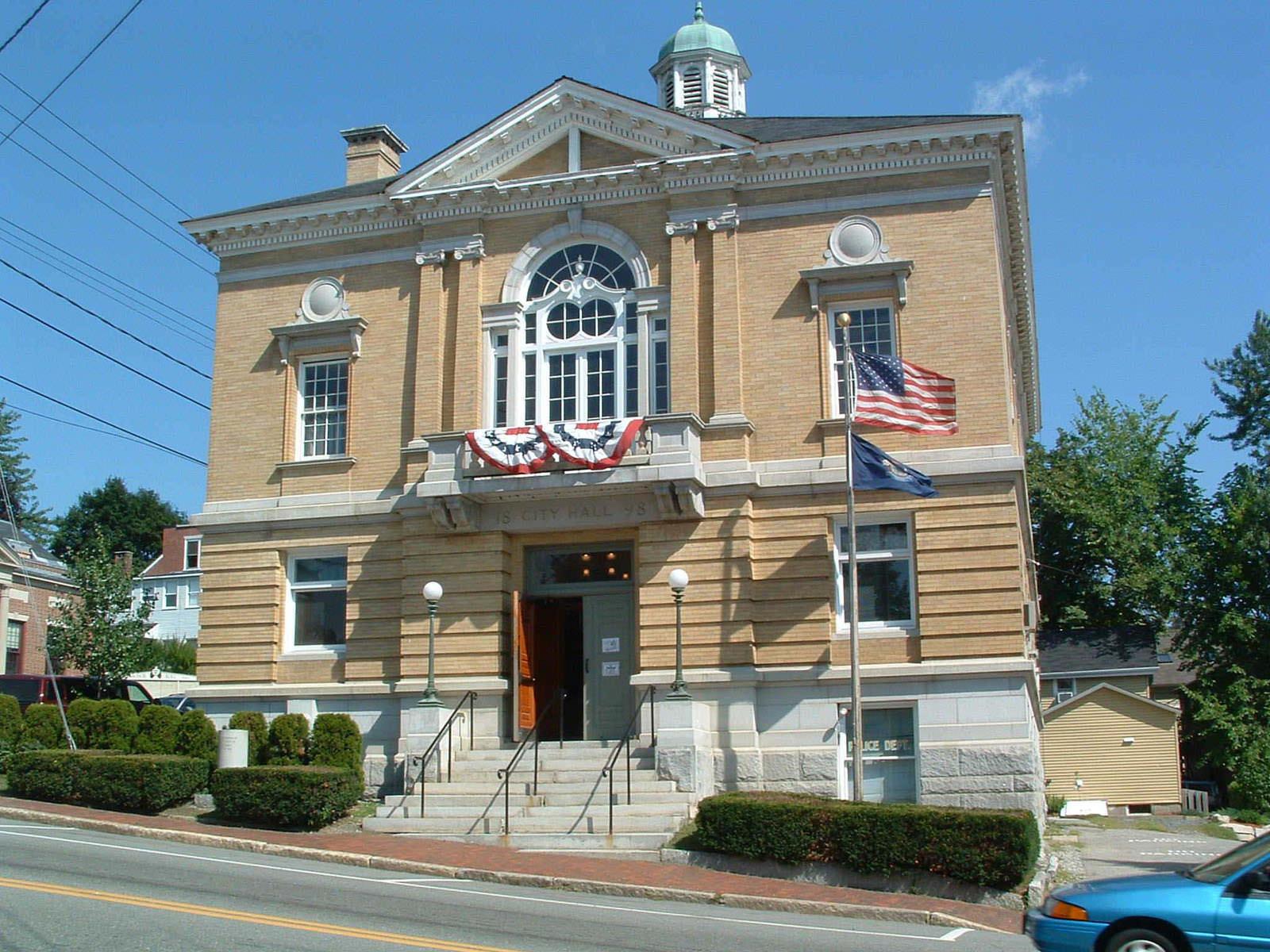 Hallowell City Hall Hallowell Maine Barba Wheelock
